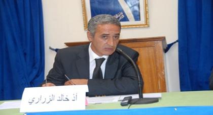 اعتقال خالد زيراري، ناشط الحركة الأمازيغية المغربية من قبل المخابرات الجزائرية