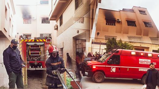 شارجور يتسبب في حريق مهول بمنزل في جماعة احدادن