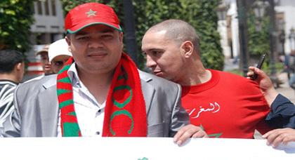 ناظوري يحتج على الأمم المتحدة أمام البرلمان المغربي