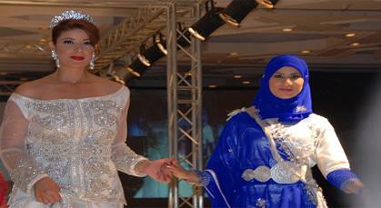 تصاميم من وحي الريف تتألق في أكبر عرض أزياء بالمغرب