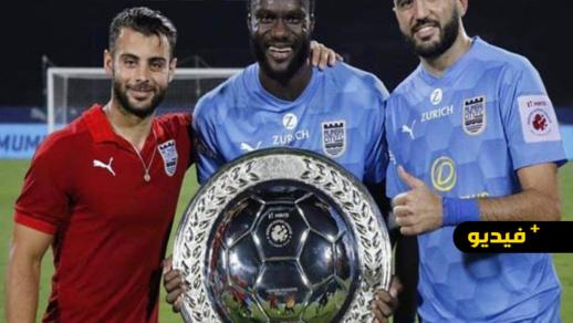 سليل العروي أحمد جحوح يتوج مع مومباي سيتي بلقب الدوري الهندي