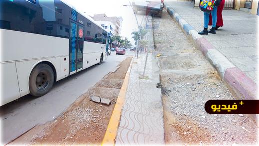 وضعية الشوارع تثير استياء ساكنة الناظور