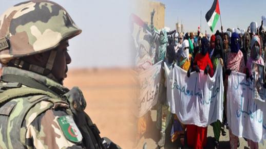 """عناصر الجيش الجزائري تقتل ناشطا بجبهة البوليساريو داخل """"تندوف"""" رميا بالرصاص"""