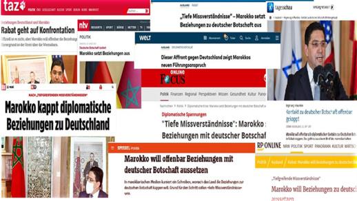 صحف ألمانية تنتقد السياسة الخارجية لميركل بسبب المغرب