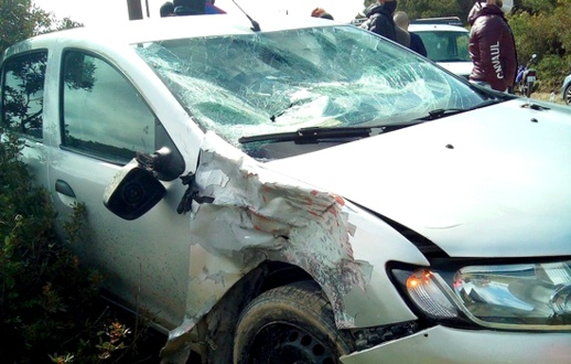 كاميرا مثبتة بسيارة ترصد حادثة سير مروعة خلفت مصرع شخص على الفور بطنجة
