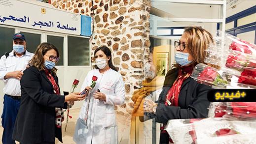 إدارة مستشفى الحسني تحتفي بالنساء الطبيبات والممرضات بمناسبة عيد المرأة العالمي
