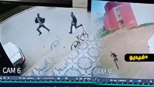 عودة الإجرام إلى ازغنغان.. عملية سرقة جديدة في واضحة النهار وسط حي سكني