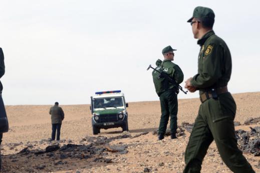 هذه حقيقة اقتحام العسكر الجزائري لأراضي فلاحية مغربية على الحدود