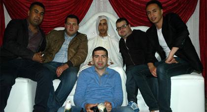 طاقم ناظورسيتي يشارك فرحة الزميل محمد الشركي بمناسبة حفل زفافه