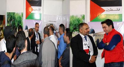 مغاربة يتأثرون بمشاركة فلسطين في المعرض الدولي للفلاحة بتراب القدس المحتلة