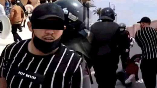 النيابة العامة تقرر متابعة معنف أساتذة التعاقد في حالة إعتقال