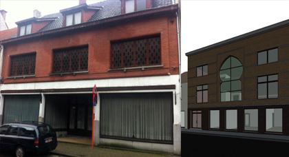 محسنون من الجالية المغربية يفتحون خطًا في شبكة الأنترنيت لجمع تبرعات بناء مسجد ببلجيكا