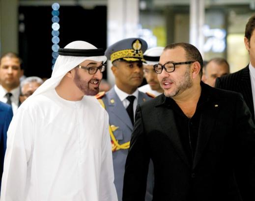 تعرف على أسرار العلاقة الحميمية بين الملك محمد السادس وحاكم إمارة أبو ظبي