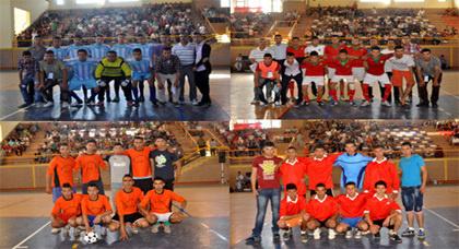 اختتام دوري كرة القدم المصغرة لثانوية حسان بن ثابث بتنظيم ناجح بالقاعة المغطاة بزايو