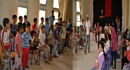 صبحية ثقافية وفنية لفائدة أطفال زايو من تأطير جمعية المشعل
