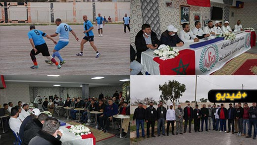 تكريم الأب الروحي لكرة القدم وأحد أبرز مؤسسي فريق النهضة بمدينة سلوان محمد المسعودي