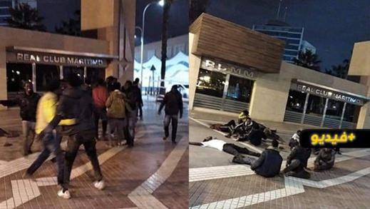 الشرطة الاسبانية تستعمل الرصاص لمنع زحف المهاجرين السريين إلى مليلية