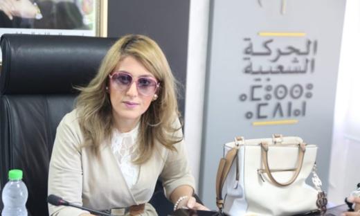 """البرلمانية """"ليلى أحكيم"""" في ضيافة الفرقة الوطنية  بخصوص رخصة بناء عمارة وسط الناظور"""