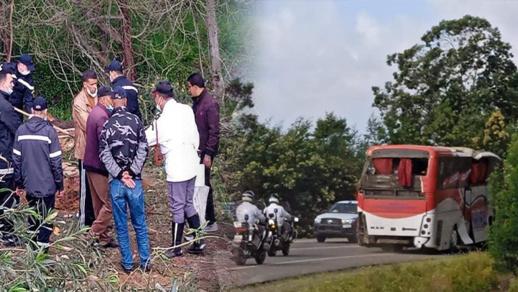 قتيلتين وجرحى إثر حادثة انقلاب حافلة للمسافرين