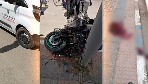 مأساة.. وفاة أحد ركاب الدراجة النارية في حادثة سير بتيزطوطين