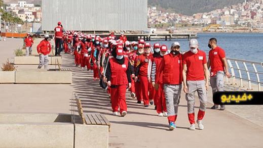 الهلال الأحمر بالناظور يطلق مناورة إسعافية لفائدة 200 منقذة ومنقذ بشاطئ مارتشيكا الاصطناعي