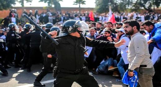 """وزارة الداخلية تحذر """"أساتذة التعاقد"""" من التجمهر بالشارع وخرق حالة الطوارئ الصحية"""