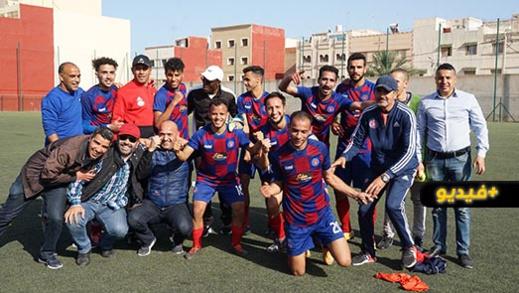 فتح الناظور يدشن مرحلة الإياب بفوز ثمين على النادي المكناسي وعينه على تحقيق الصعود