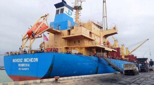 سفينة إسبانية موبوءة تحط في المغرب وسط استنفار السلطات العمومية