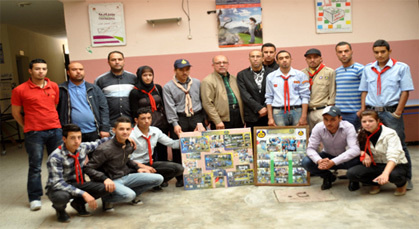 الكشاف المغربي يؤسس فرعا له بزايو
