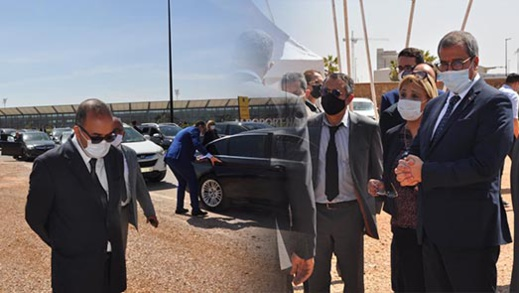 الوزيرة بوشارب تتطلع على مشاريع تهيئة جماعات إقليم الناظور