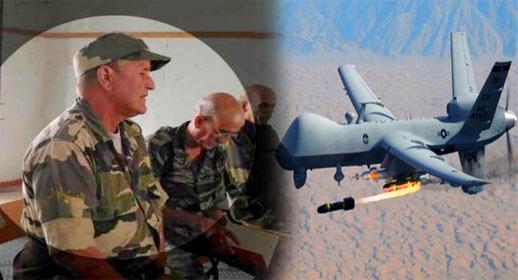 """طائرة بدون طيار تنهي حياة قيادي بجبهة """"البوليساريو"""" أثناء قيامه بعملية عسكرية ضد الجيش المغربي"""