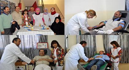 حملة للتبرع بالدم بزايو لإنقاذ حياة كل من يريد الدم