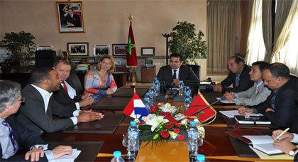 وفد من رجال أعمال هولنديين في زيارة عمل للمغرب