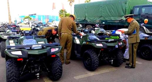 بهدف التصدي للهجرة السرية.. اسبانيا تمنح عناصر القوات المساعدة درجات رباعية الدفع