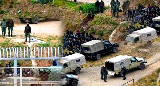 إحباط تسلل العشرات من المهاجرين السريين إلى سبتة المحتلة