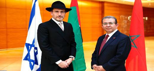 حاخام سيدني سعيد بما يقوم به الملك محمد السادس في سبيل اليهودية