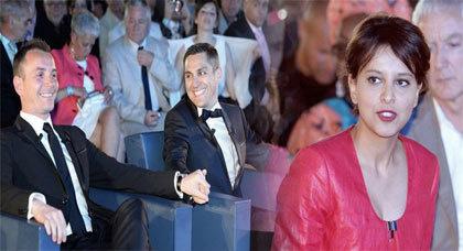 إبنة بني شيكر نجاة بلقاسم تحضر أول زواج للمثليين بفرنسا