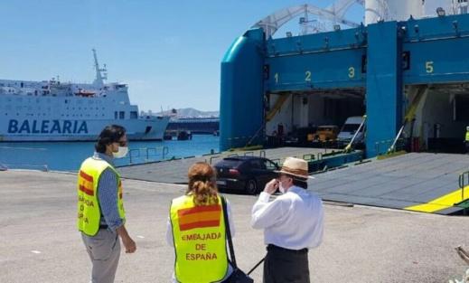 سفارة اسبانيا تنظم رحلة بحرية من طنجة إلى الجزيرة الخضراء