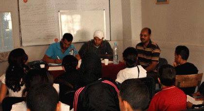 دورة تكوينة في مجال حقوق الإنسان لفائدة تلاميذ الثانوية الاعدادية صبرا بزايو