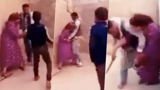 ايداع الزوج الذي ظهر في شريط فيديو وهو يعنف زوجته