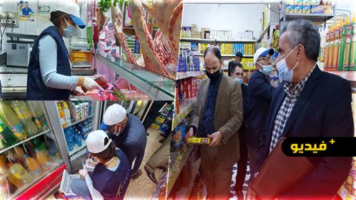 سلطات الناظور تشدد المراقبة على المحلات التجارية لاحترام سلامة المنتجات المعروضة خلال رمضان