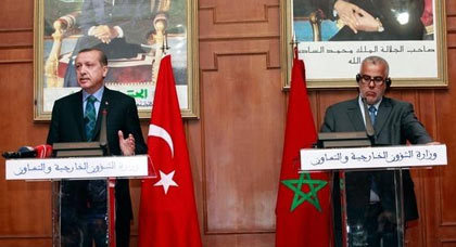 أردوغان: لا نعترف بالبوليساريو والملك محمد السادس سيزور تركيا نهاية السنة الجارية
