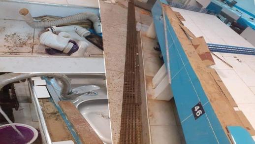 صور.. فضيحة سوق السمك بالعروي تصل إلى وزارة الداخلية بعد أيام قليلة من افتتاحه