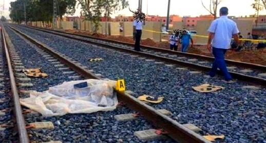 مأساة.. قطار وجدة يتسبب في مصرع طفلة وإصابة شقيقها بجروح خطيرة