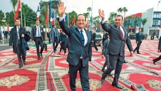 لهذا تأخر محمد السادس في باريس وسيلتقي هولاند قبل أن ينتقل إلى الجهة الشرقية