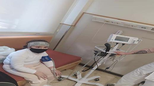 الطفلة مروة تستعيد عافيتها ولا تزال تحت المراقبة في المستشفى