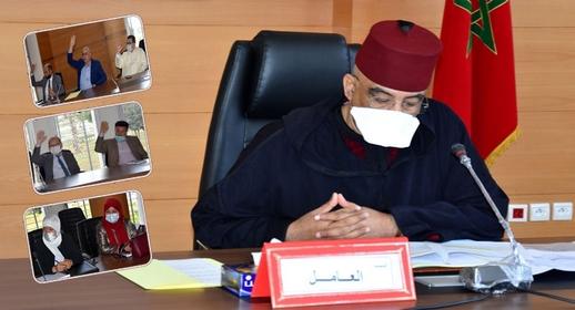 عامل إقليم الدريوش يترأس أشغال اللجنة الإقليمية للتنمية البشرية