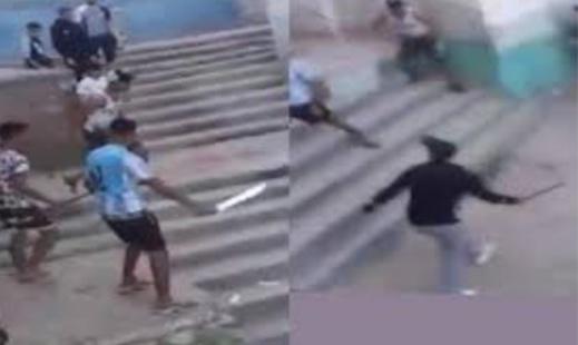 قتال بالسيوف في الشوارع لأيام متتالية