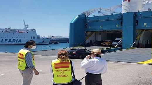 تنظيم رحلة جديد للراغبين في العودة إلى إسبانيا