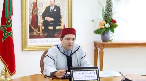 وزير خارجية المغرب يتباحث مع نظيره الأمريكي